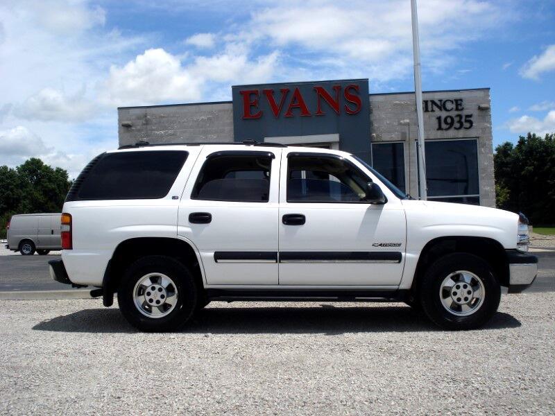 2001 Chevrolet Tahoe 4DR LS 2WD