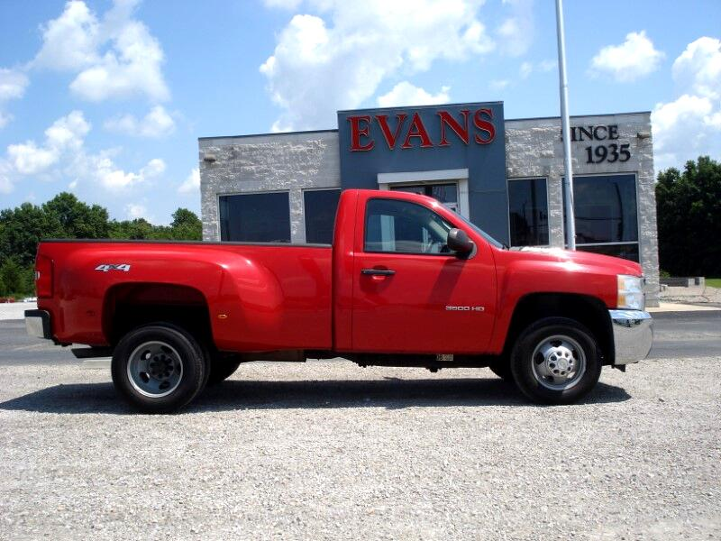 2010 Chevrolet Silverado 3500HD DUALLY 4X4 REGULAR CAB LONG BED