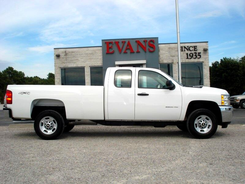 2012 Chevrolet Silverado 2500HD EXT CAB LONG BED 4X4 2500
