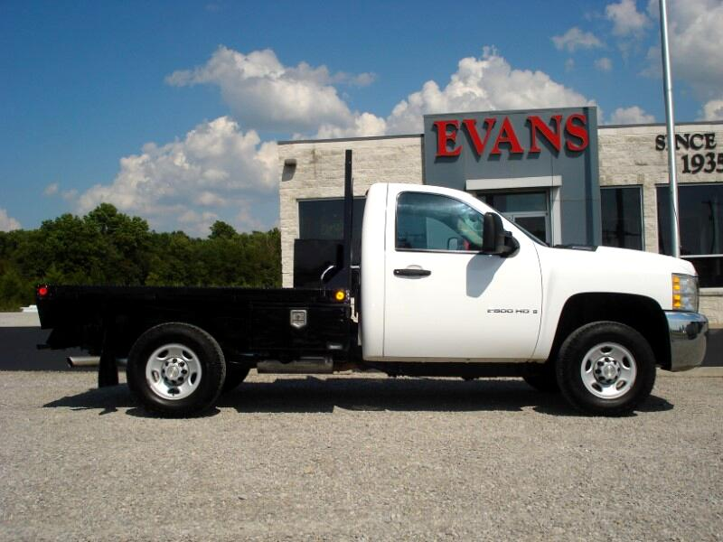 2009 Chevrolet Silverado 2500HD LONG BED 4X4 FLAT BED REGULAR CAB