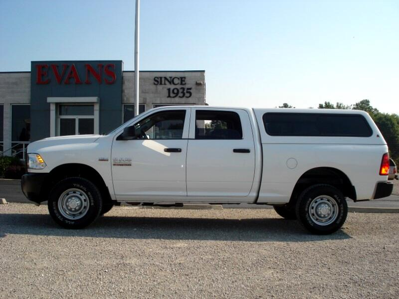 2013 RAM 2500 CREW CAB 4DR SHORT BED 4X4