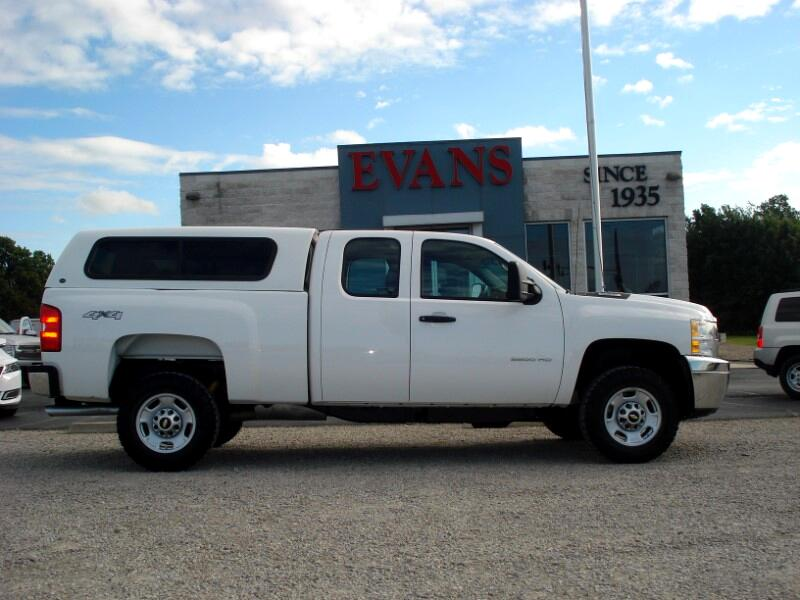 2011 Chevrolet Silverado 2500HD 4DR EX CAB 4X4 2500 SHORT BED