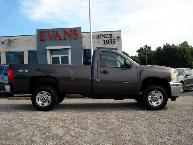 2011 Chevrolet Silverado 2500HD LONG BED 3/4 TON 4X4 REGULAR CAB