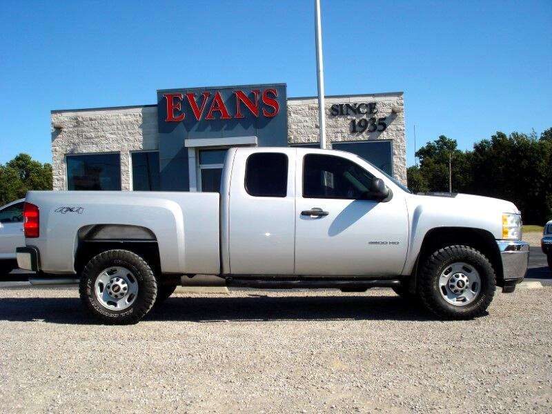 2013 Chevrolet Silverado 2500HD LS 4X4 2500 EX CAB SHORT BED 4DR