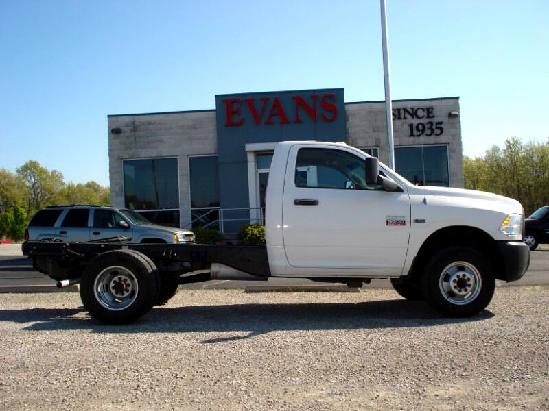Dodge Ram 3500 Regular Cab 4WD DRW 2012