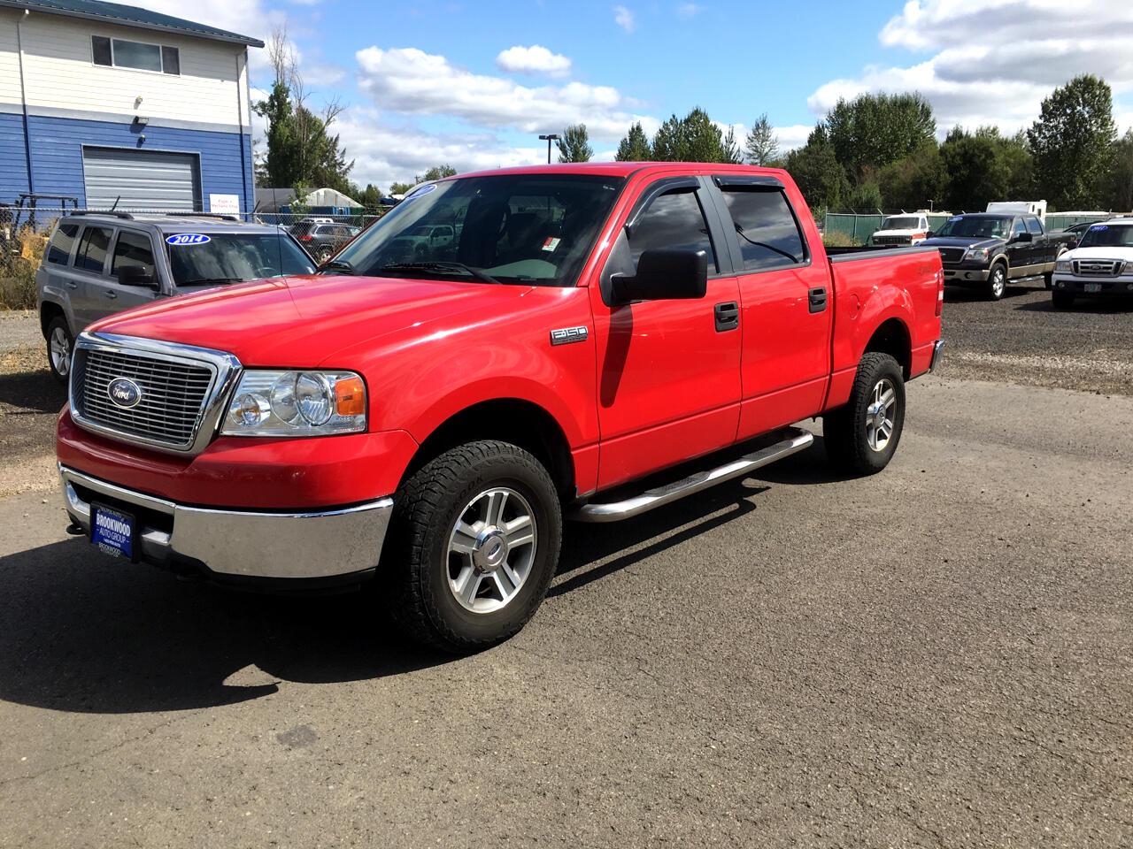 "2007 Ford F-150 4WD SuperCrew 145"" XLT"