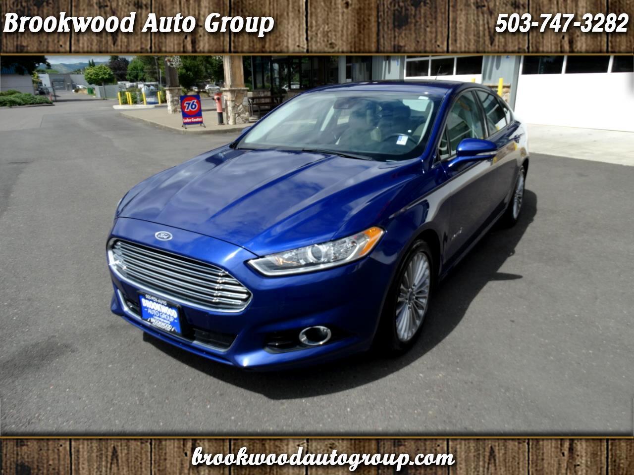 Ford Fusion 4dr Sdn Titanium Hybrid FWD 2014