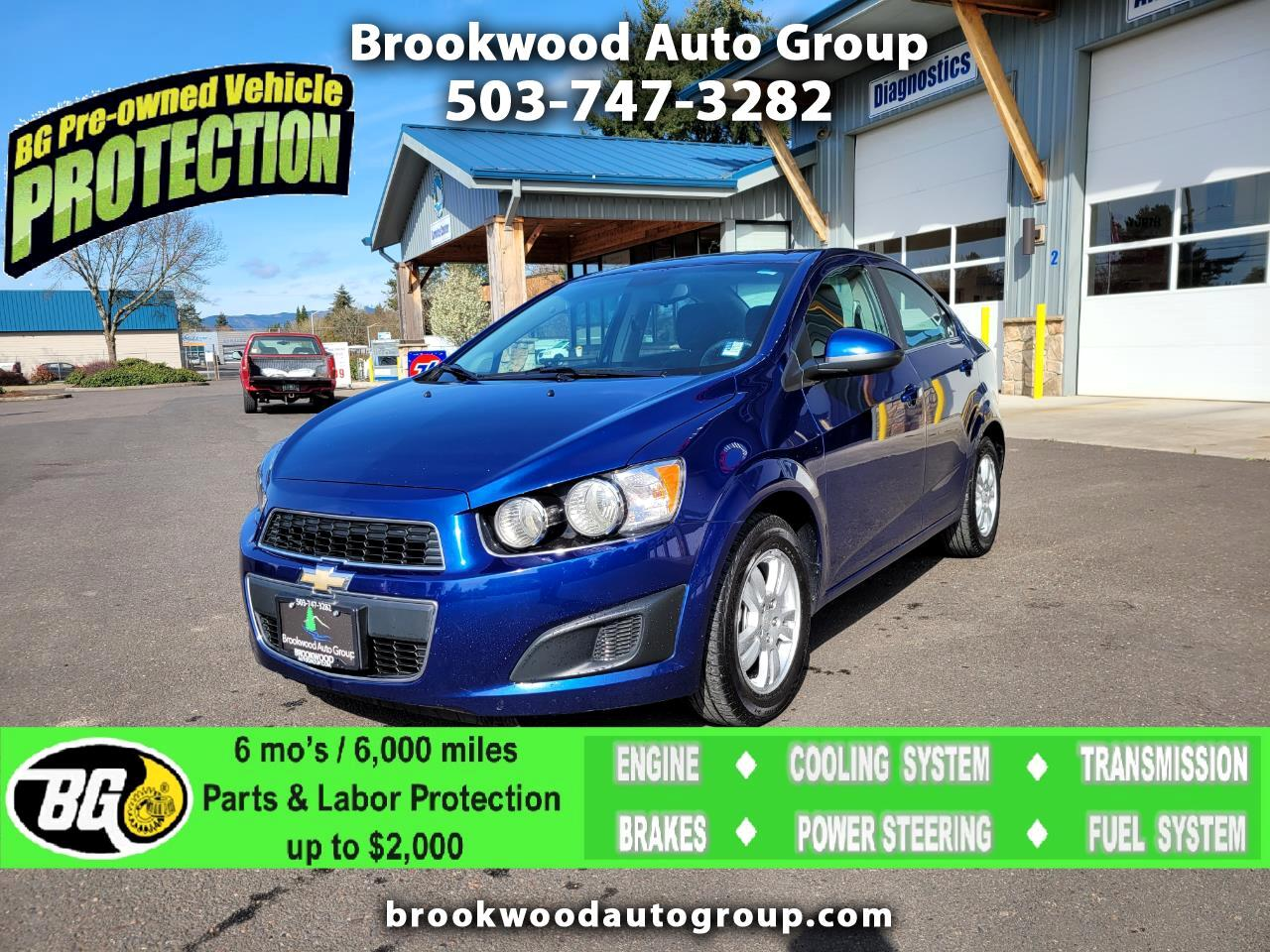 Chevrolet Sonic 4dr Sdn Auto LT 2013
