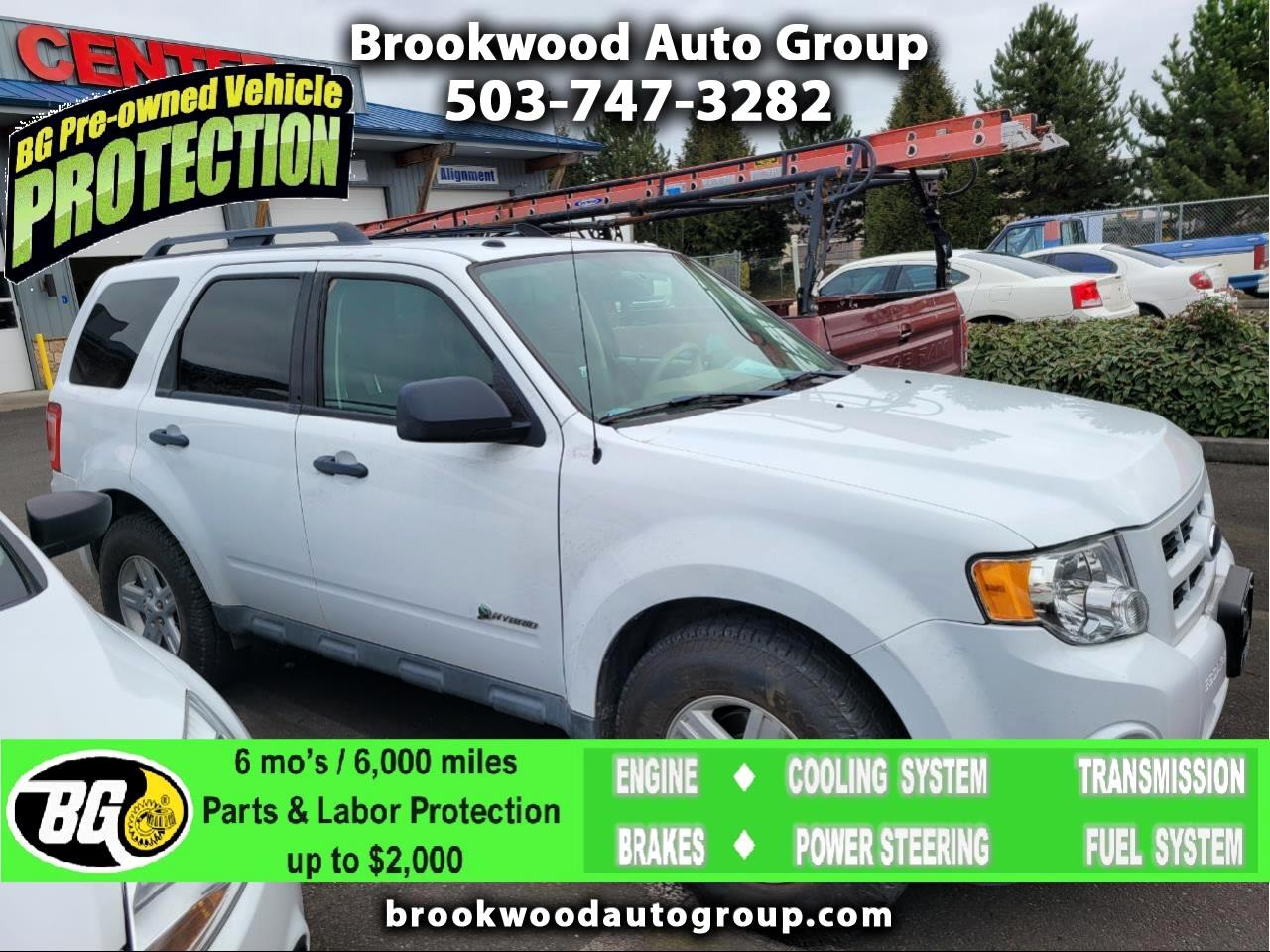 Ford Escape 4WD 4dr I4 CVT Hybrid 2009