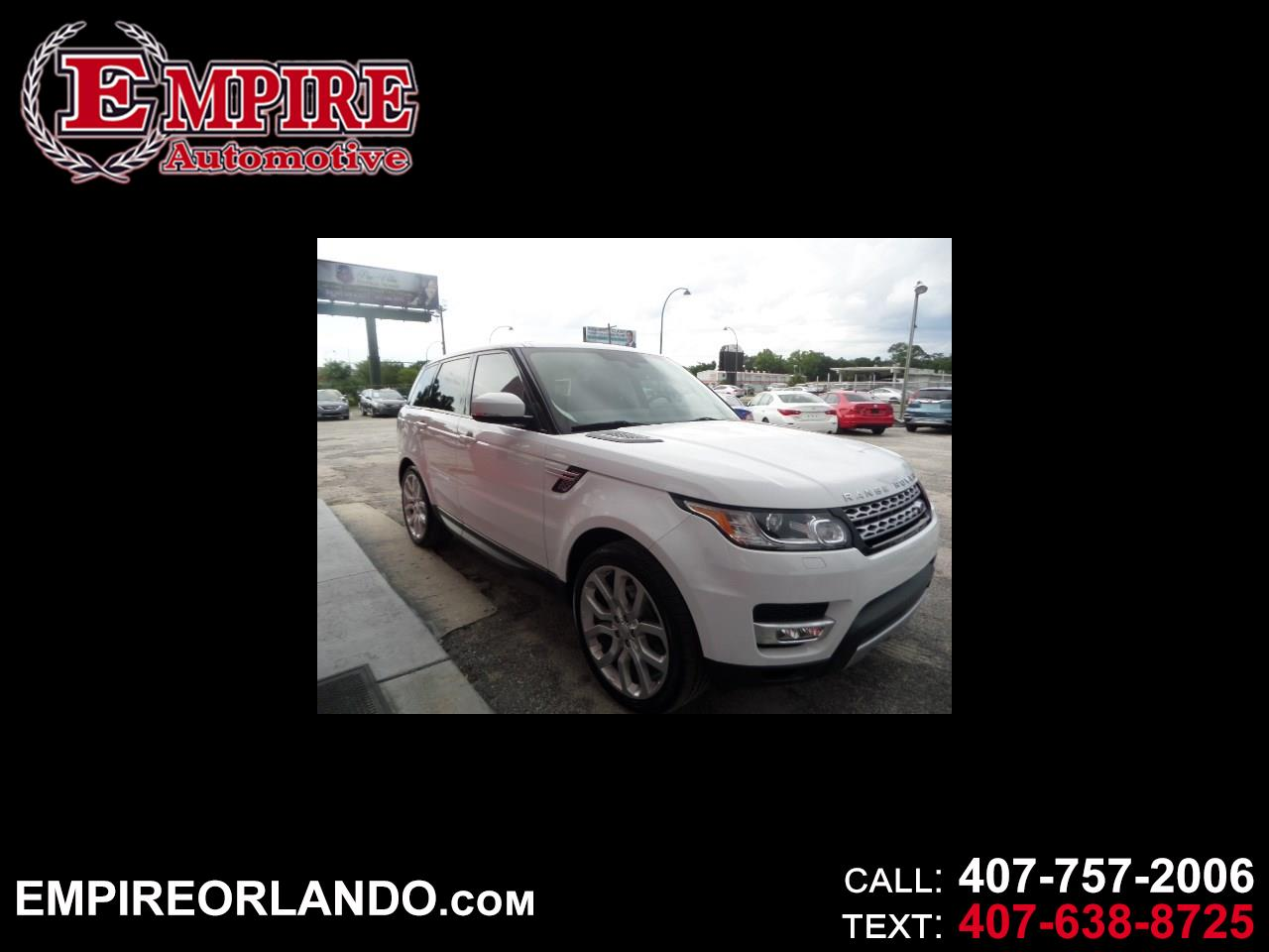 Land Rover Range Rover Sport 4WD 4dr HSE 2014