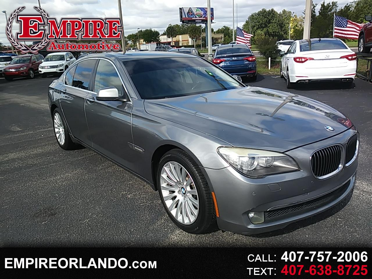 BMW 7 Series 4dr Sdn 750i 2011