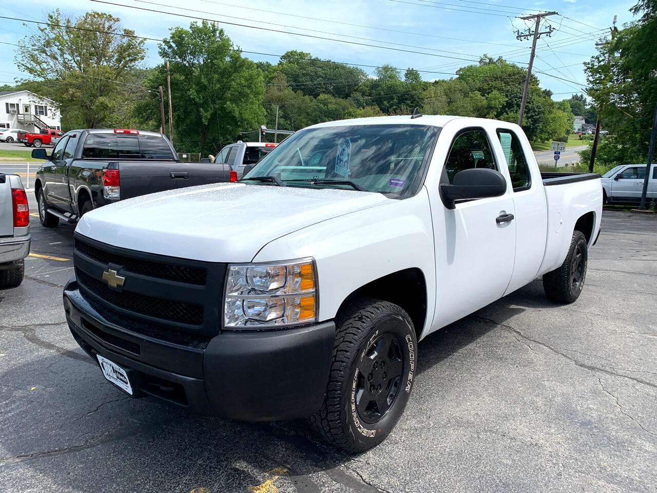 2009 Chevrolet Silverado 1500 Work Truck Ext. Cab Short Box 4WD