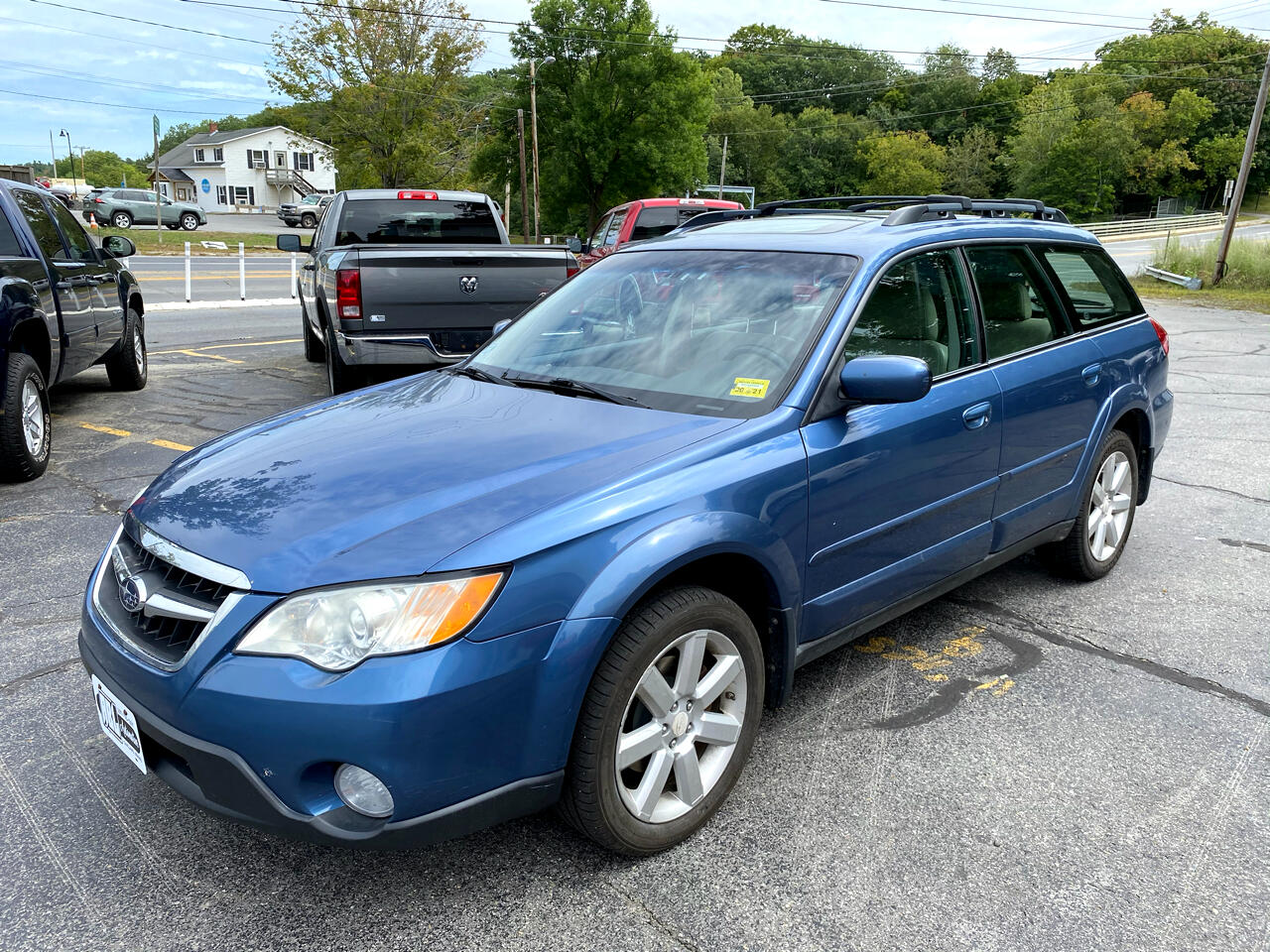 Subaru Outback (Natl) 4dr H4 Auto Ltd 2008