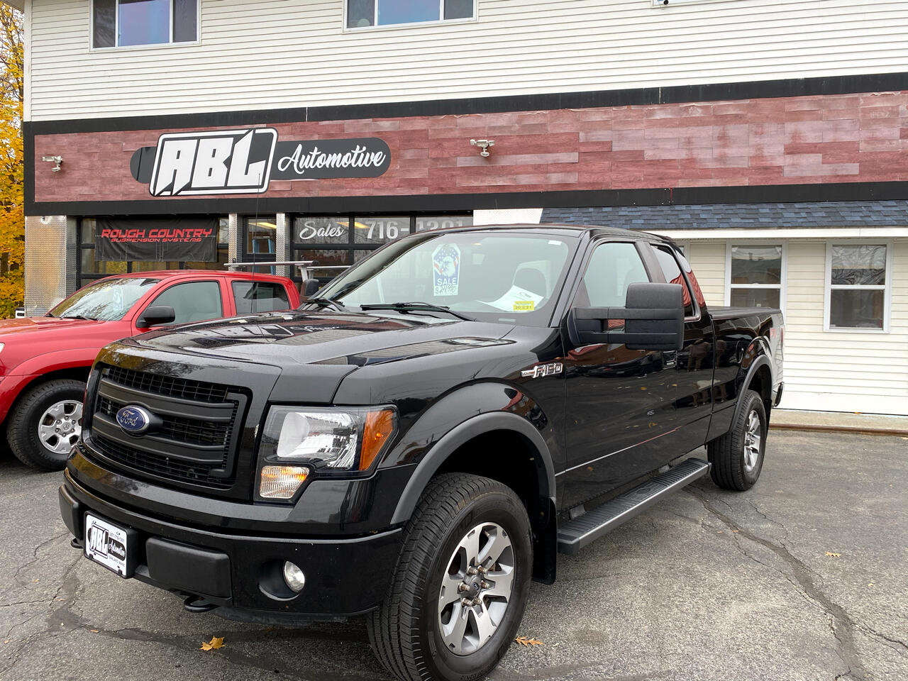 "Ford F-150 4WD SuperCab 145"" FX4 2014"