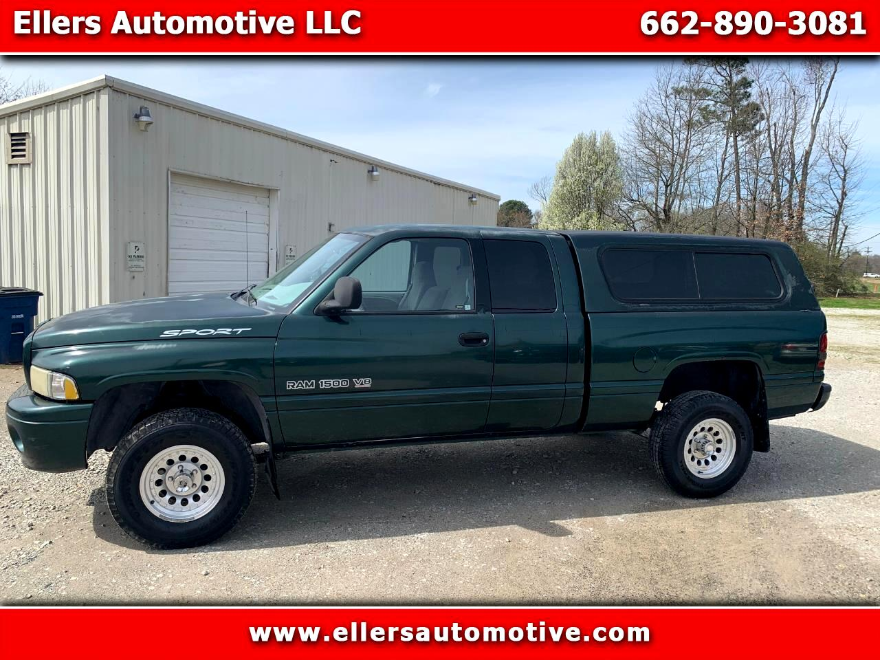 Dodge Ram 1500 Quad Cab Short Bed 4WD 2001