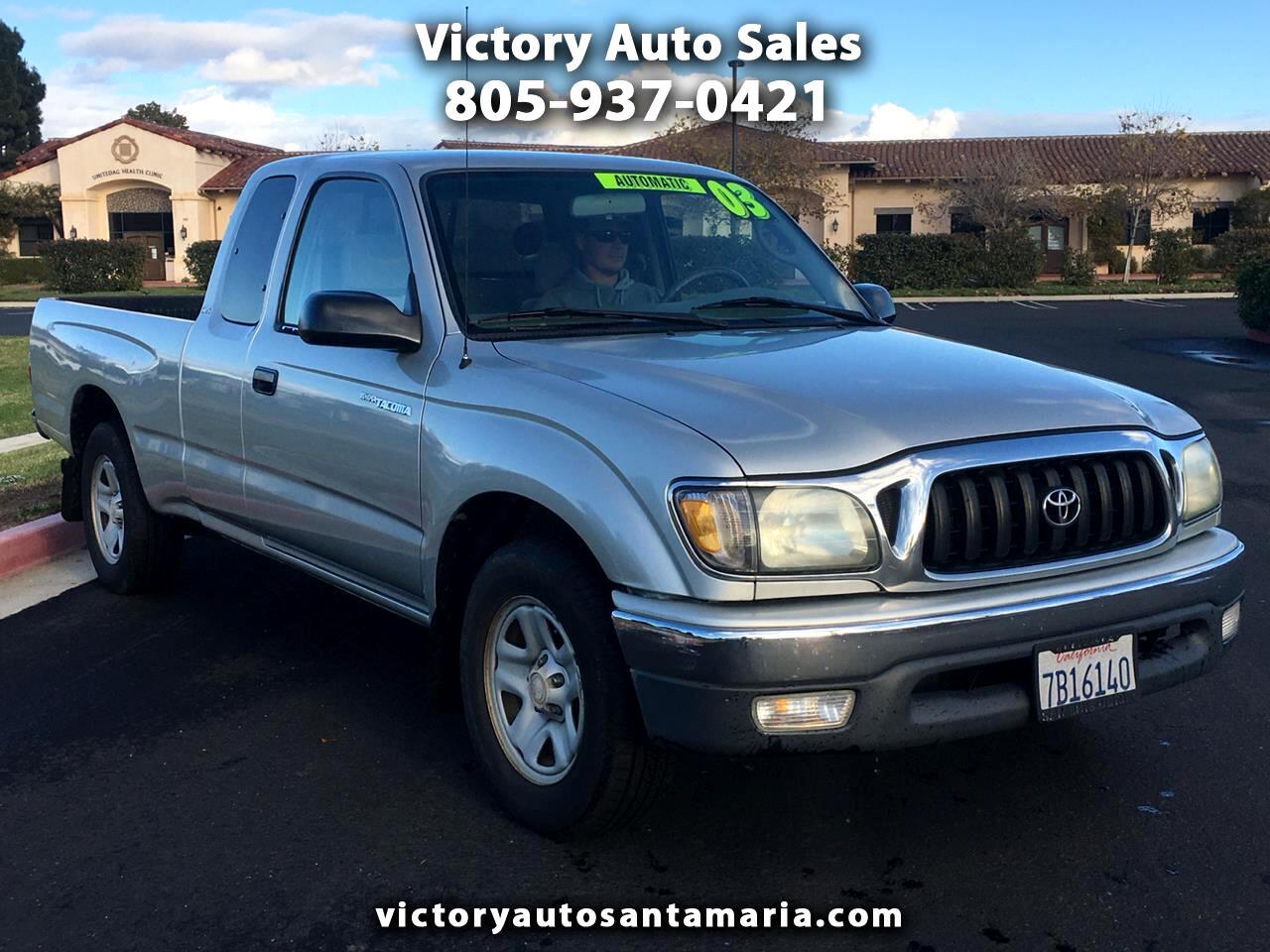 Toyota Tacoma Xtracab 2WD 2003