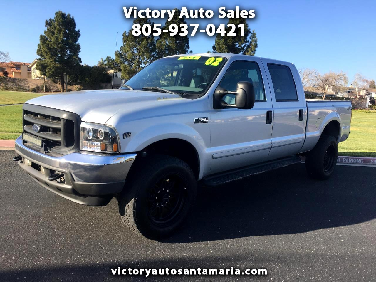 Ford F-350 SD Lariat Crew Cab Long Bed 4WD 2002