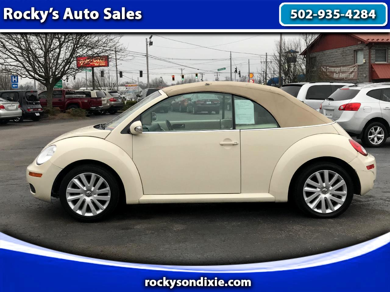 Volkswagen New Beetle Convertible 2dr Auto S PZEV 2009