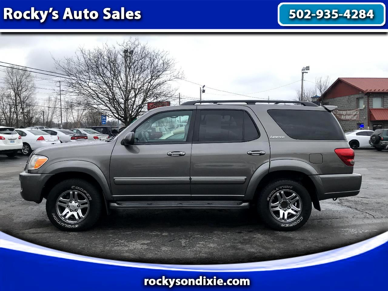 Toyota Sequoia 4dr Limited 4WD (Natl) 2006