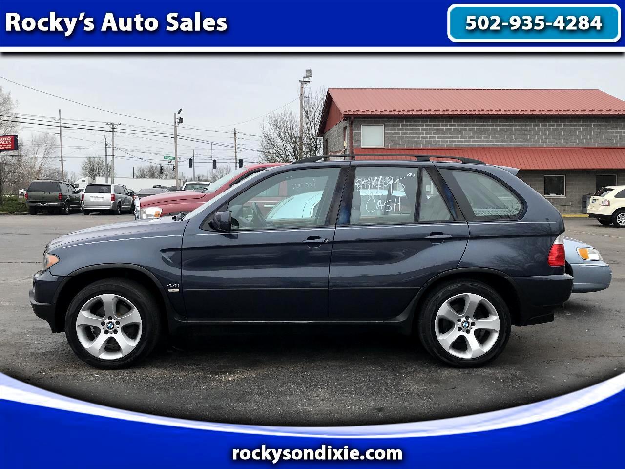 BMW X5 X5 4dr AWD 4.4i 2006