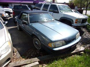 Ford Mustang LX convertible 1989