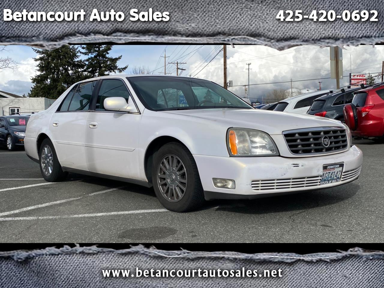 Cadillac DEVILLE 4dr Sdn DHS 2004