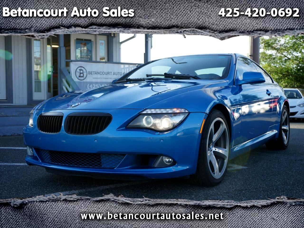 BMW 6 Series 2dr Cpe 650i 2010