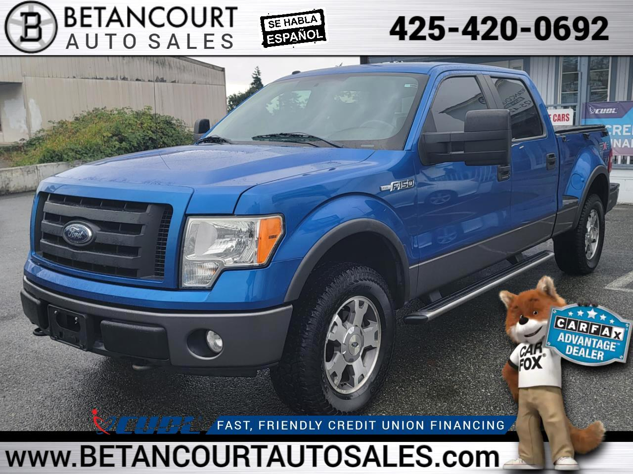 """2009 Ford F-150 4WD SuperCrew Flareside 157"""" FX4"""