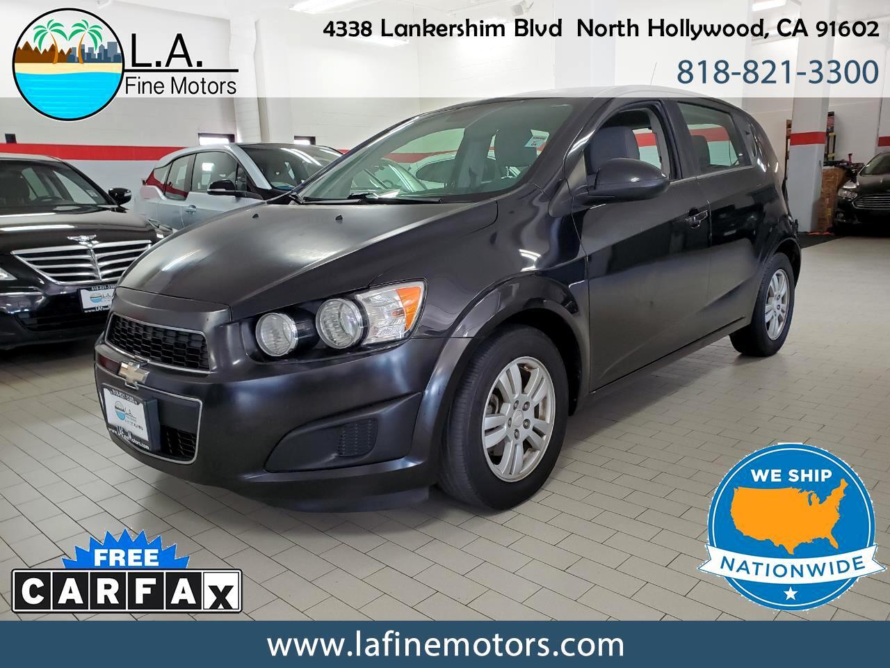 Chevrolet Sonic LT Auto 5-Door 2013