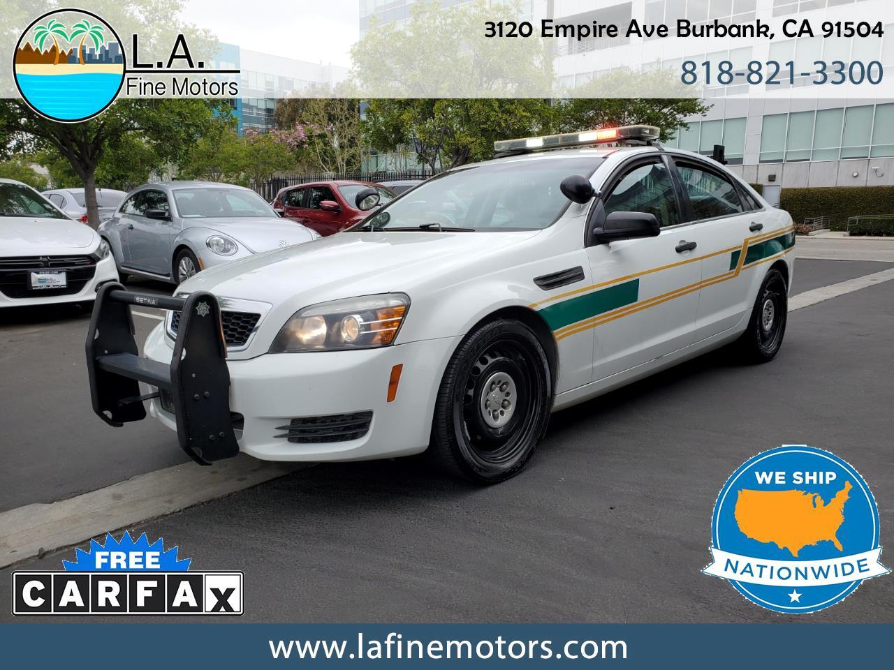 Chevrolet Caprice Police 2013