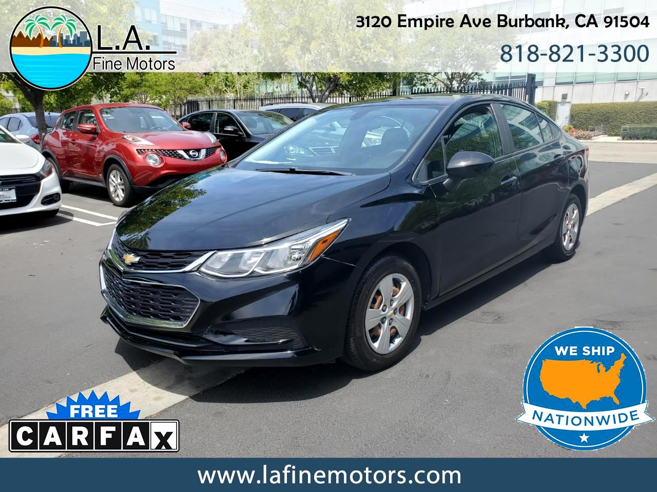 Chevrolet Cruze LS Manual 2016