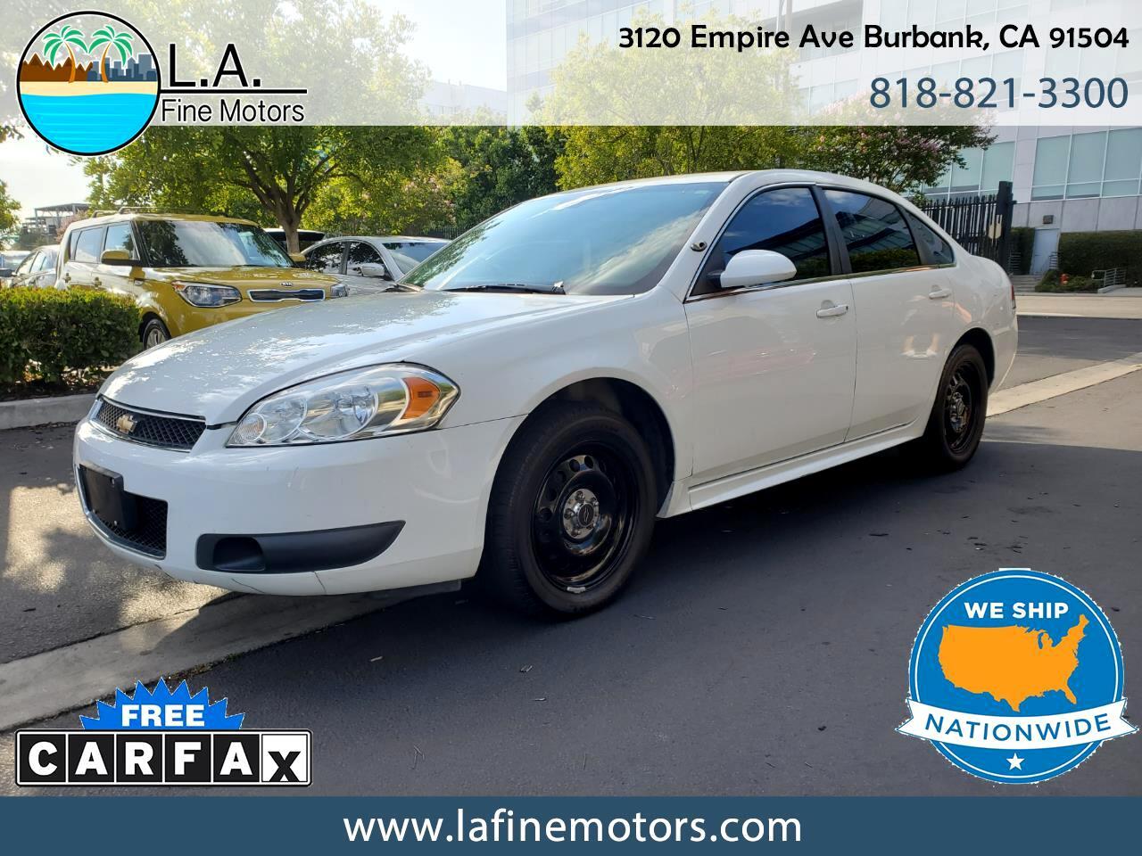 Chevrolet Impala Limited Police Cruiser 2016
