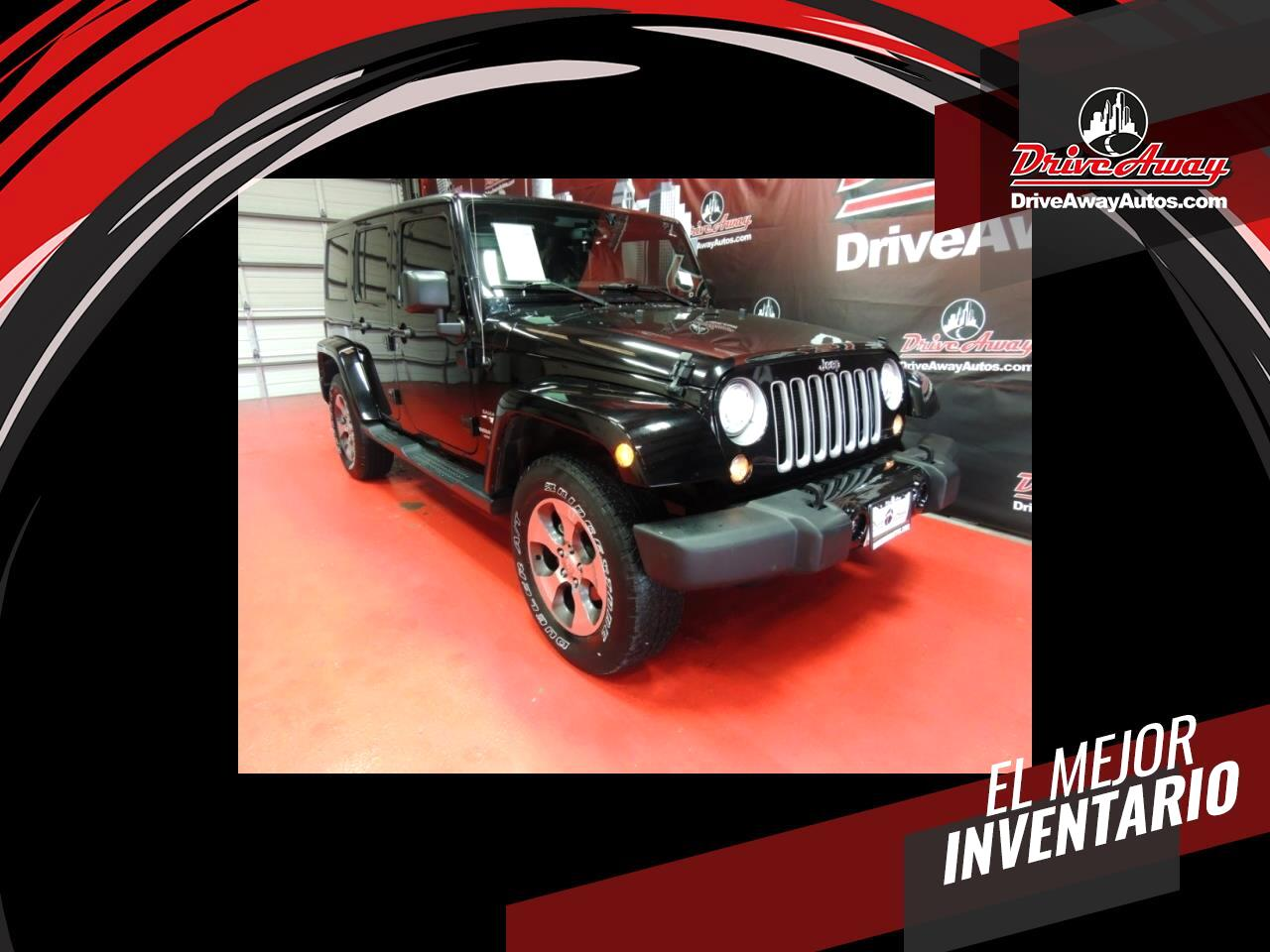 Jeep Wrangler Unlimited Sahara 4WD 2017