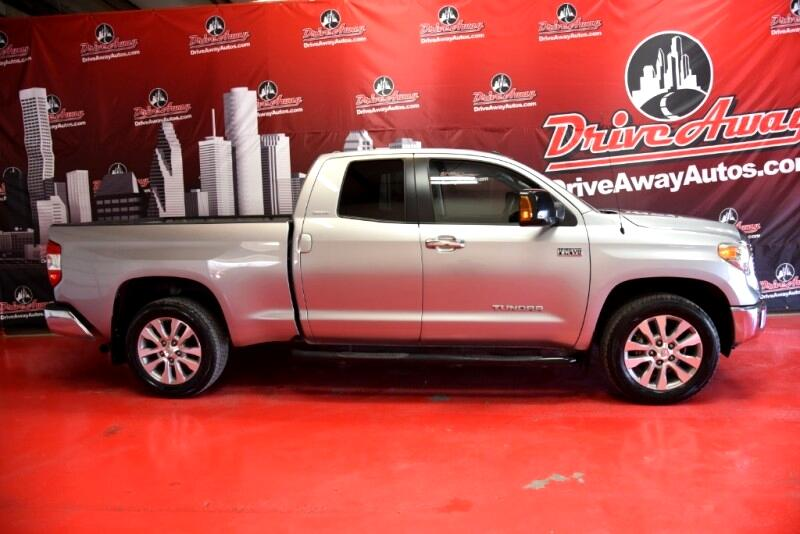 Toyota Tundra Limited 5.7L FFV Double Cab 4WD 2014
