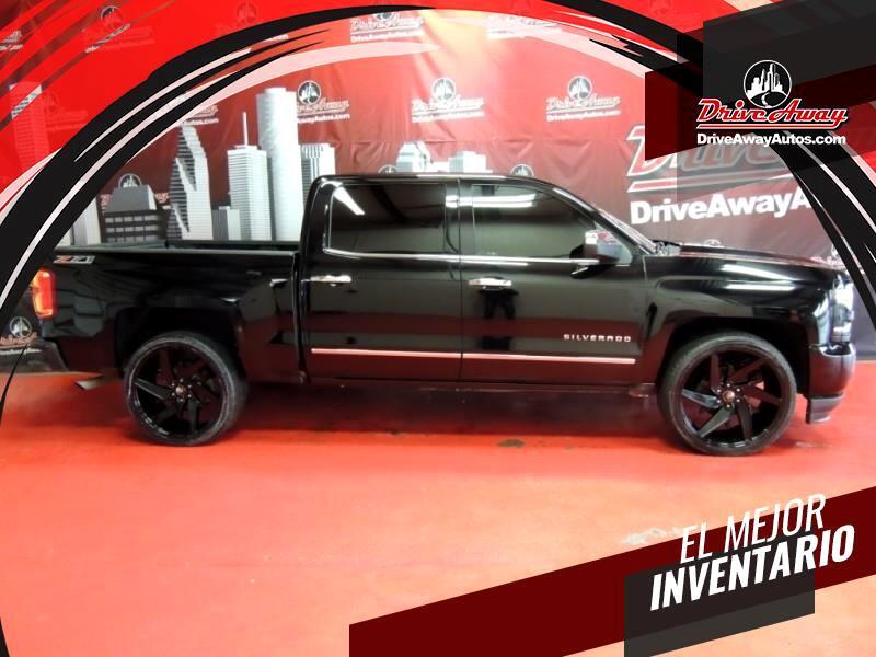 Chevrolet Silverado 1500 LTZ Crew Cab 4WD 2017