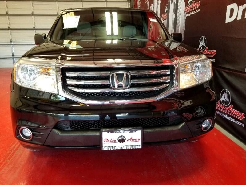 Honda Pilot LX 4WD 5-Spd AT 2012