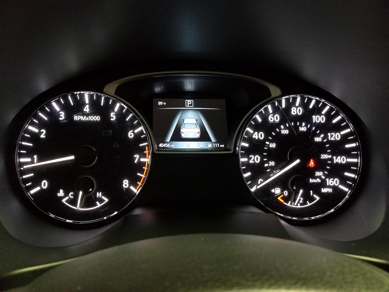 Nissan Altima 2.5 SV 2018
