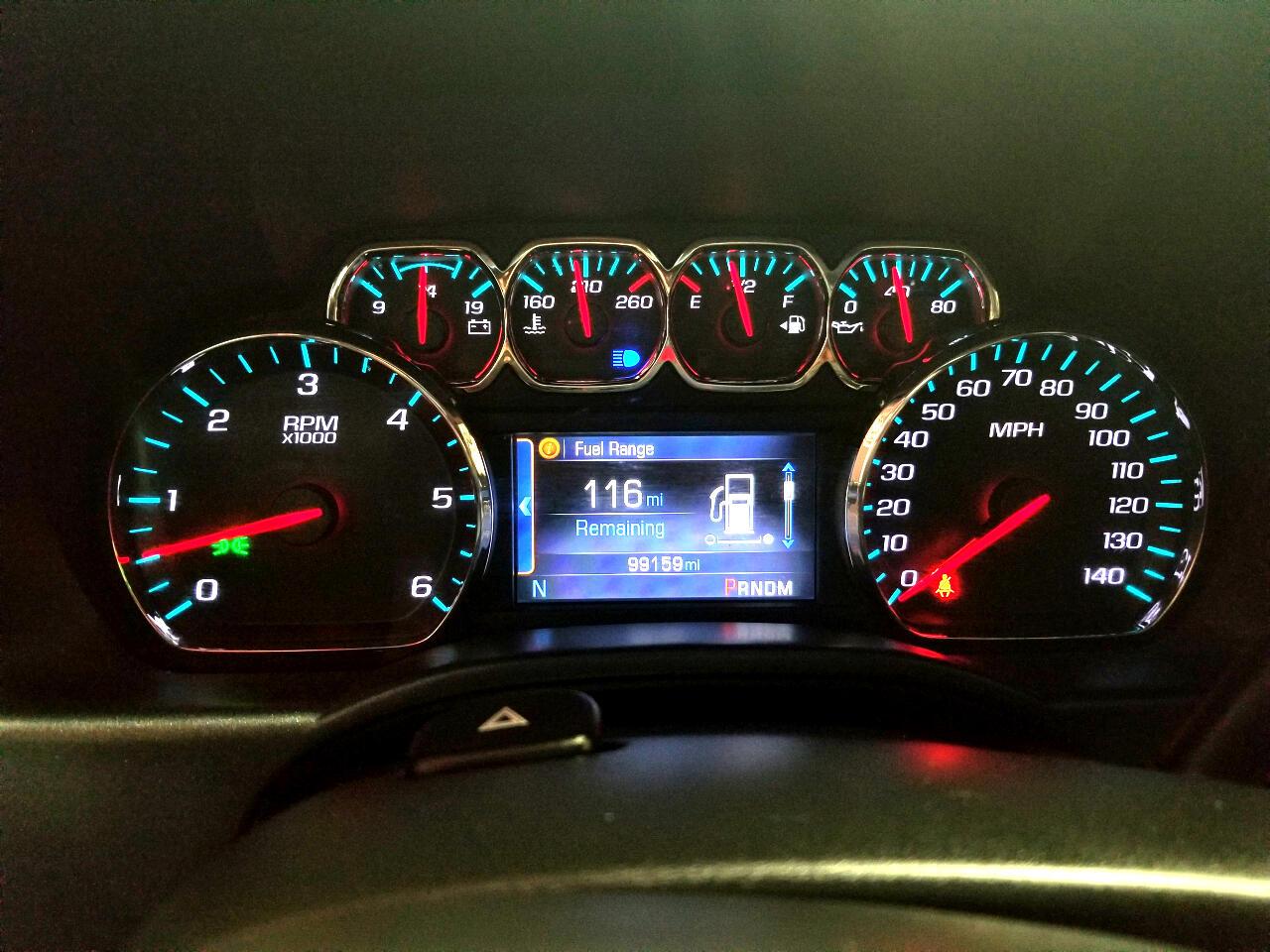 Chevrolet Silverado 1500 2LT Crew Cab Long Box 2WD 2014