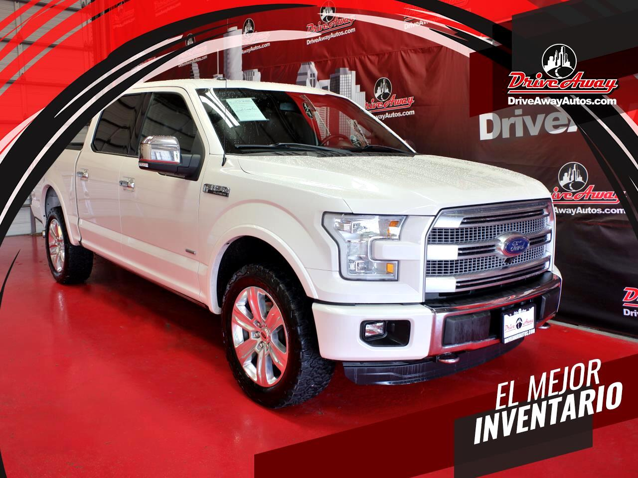 "Ford F-150 4WD SuperCrew 145"" King Ranch 2015"