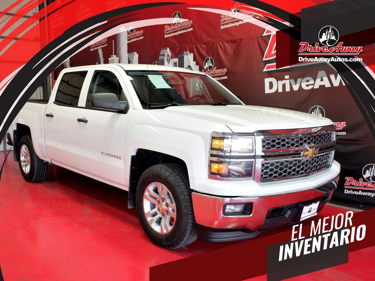 """Chevrolet Silverado 1500 4WD Crew Cab 143.5"""" LT w/1LT 2014"""