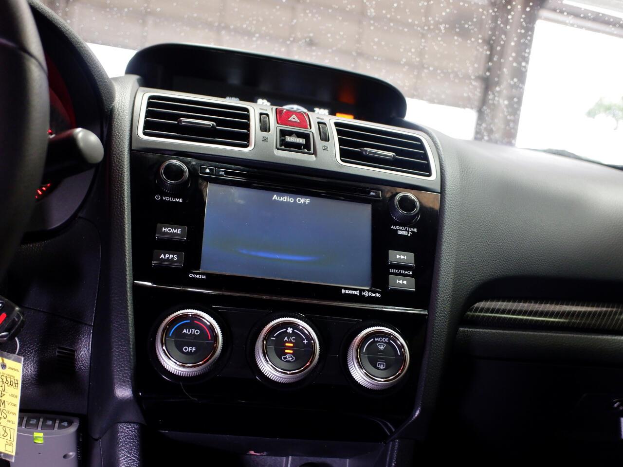Subaru WRX Manual 2017