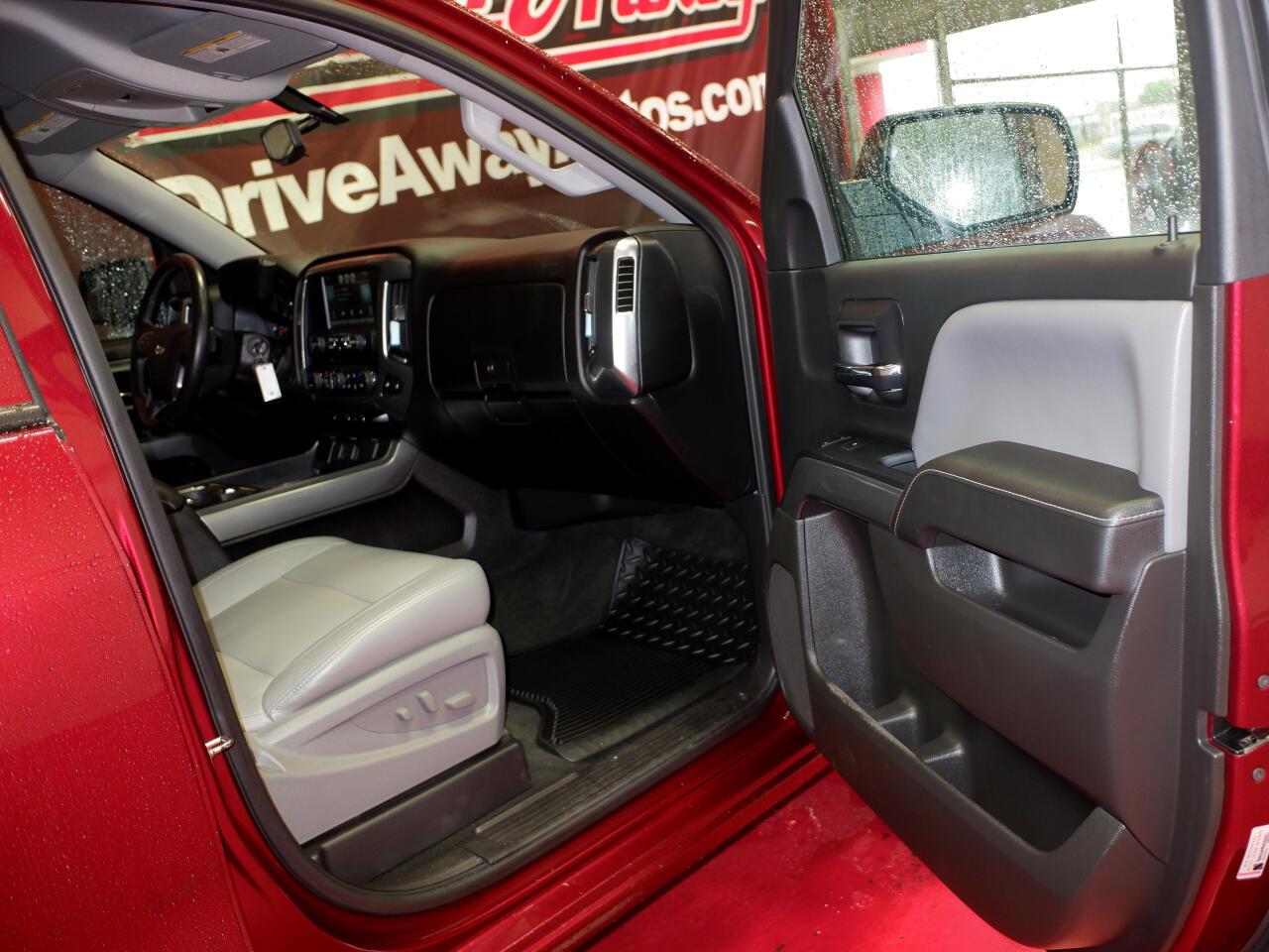 """Chevrolet Silverado 1500 2WD Crew Cab 143.5"""" LT w/1LT 2016"""