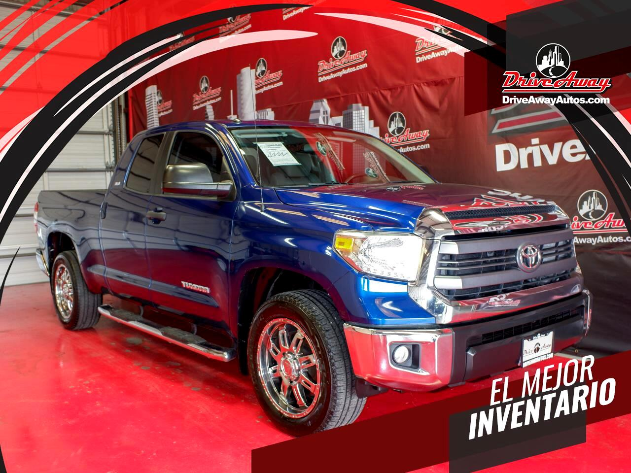 Toyota Tundra 2WD Truck Double Cab 4.6L V8 6-Spd AT SR5 (Natl) 2015