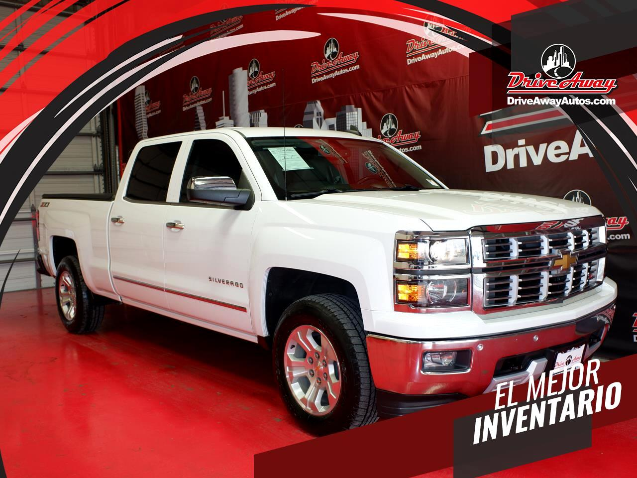 "Chevrolet Silverado 1500 4WD Crew Cab 153.0"" LTZ w/2LZ 2015"
