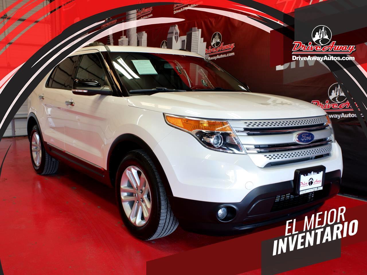 Ford Explorer FWD 4dr XLT 2015