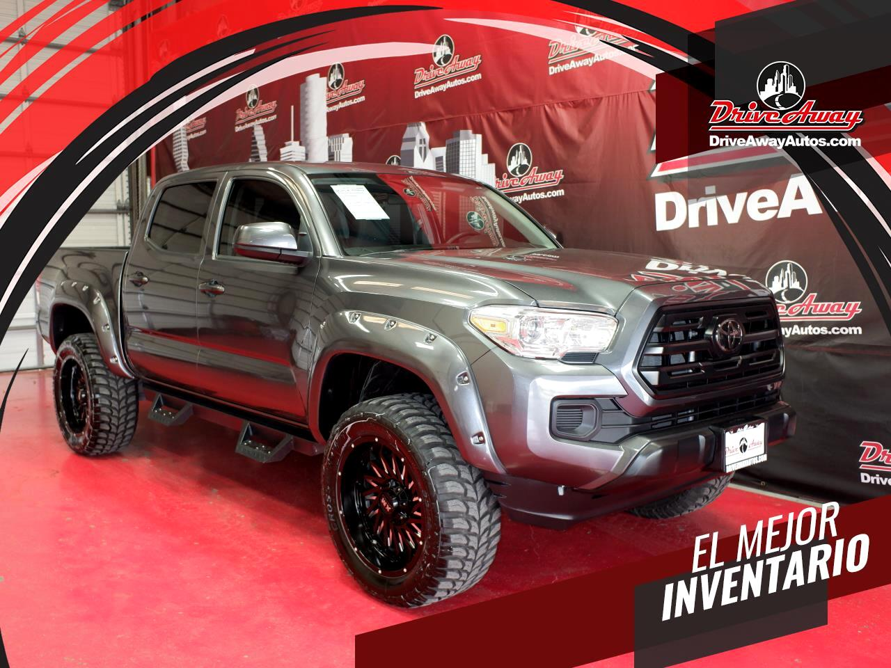 Toyota Tacoma SR5 Double Cab 5' Bed I4 4x2 AT (Natl) 2018