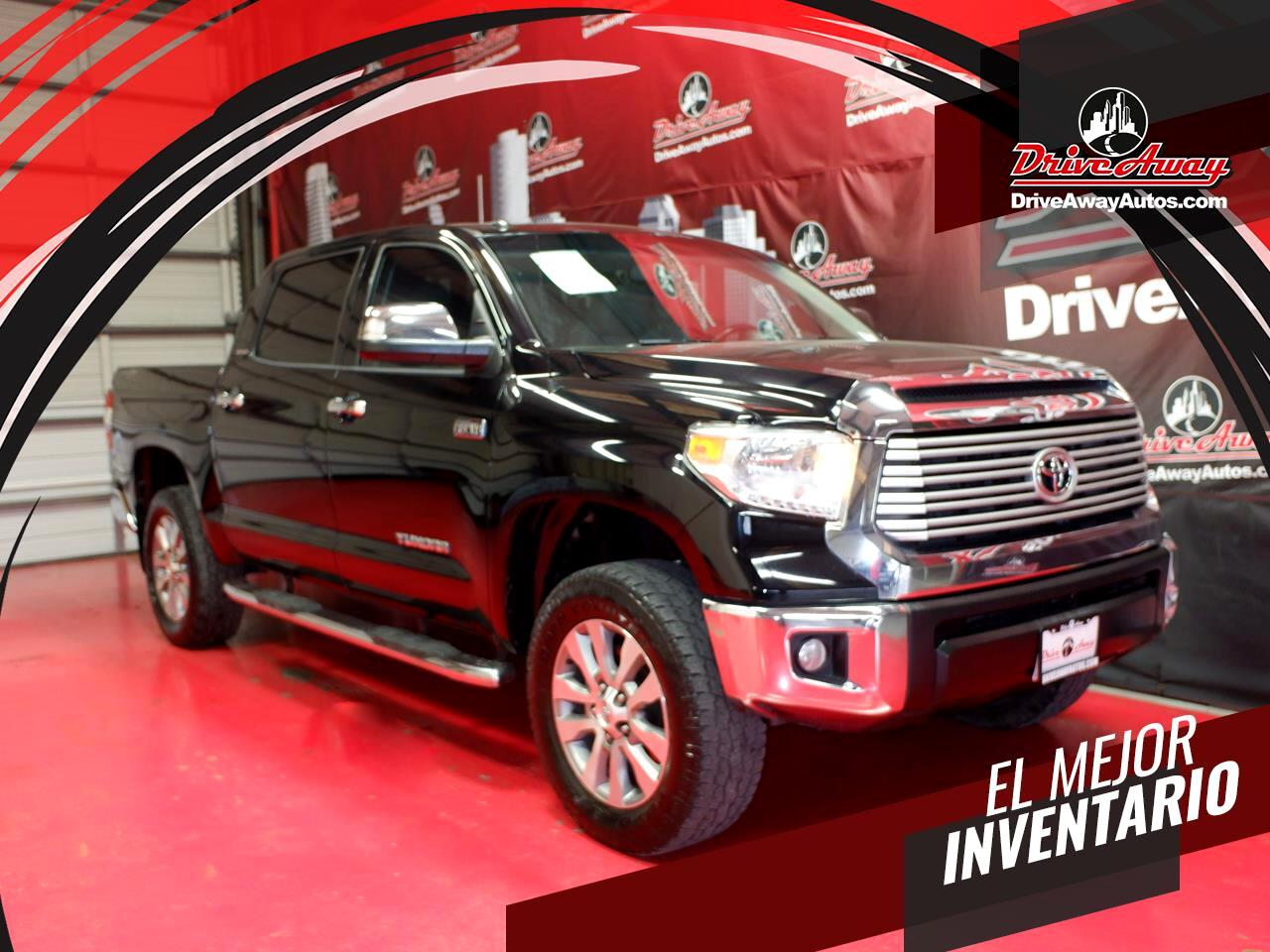 Toyota Tundra 4WD Truck CrewMax 5.7L FFV V8 6-Spd AT LTD (Natl) 2015