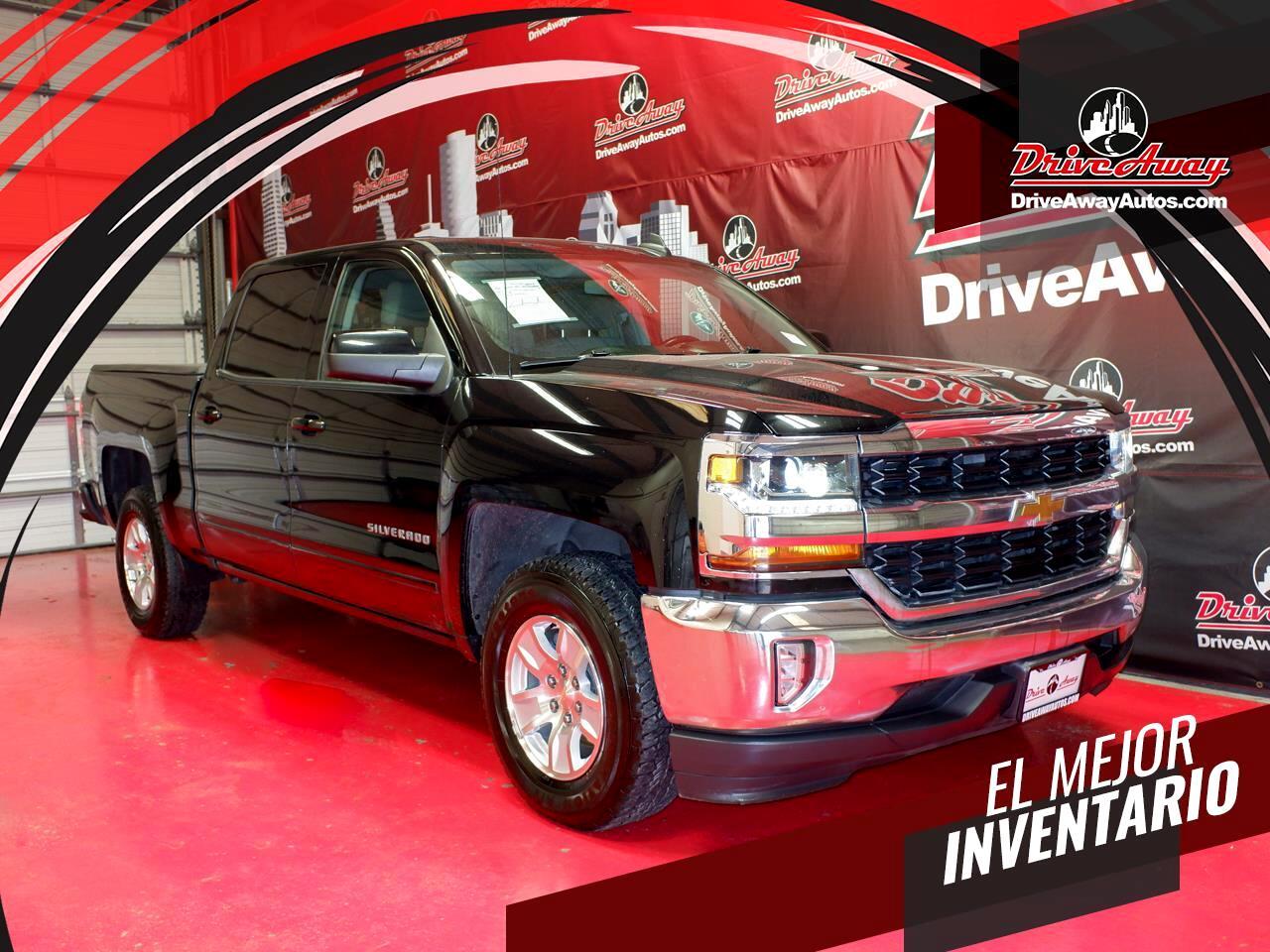 """Chevrolet Silverado 1500 2WD Crew Cab 143.5"""" LT w/1LT 2017"""