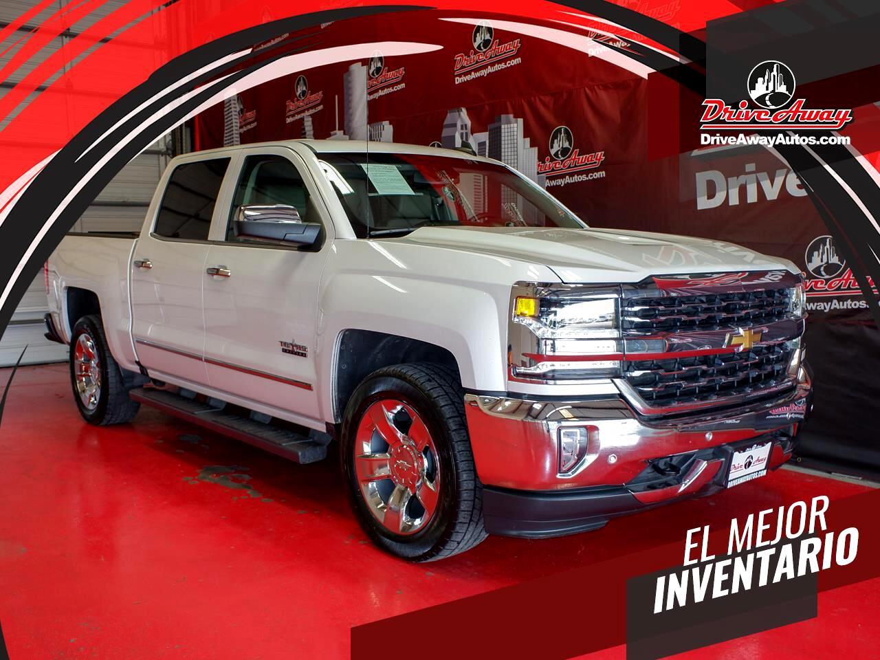 "Chevrolet Silverado 1500 2WD Crew Cab 143.5"" LTZ w/1LZ 2018"