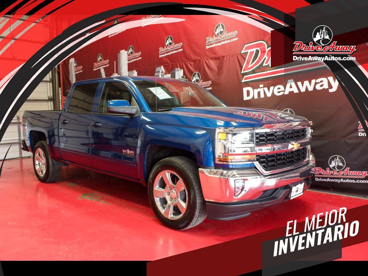"""Chevrolet Silverado 1500 2WD Crew Cab 143.5"""" LT w/1LT 2018"""